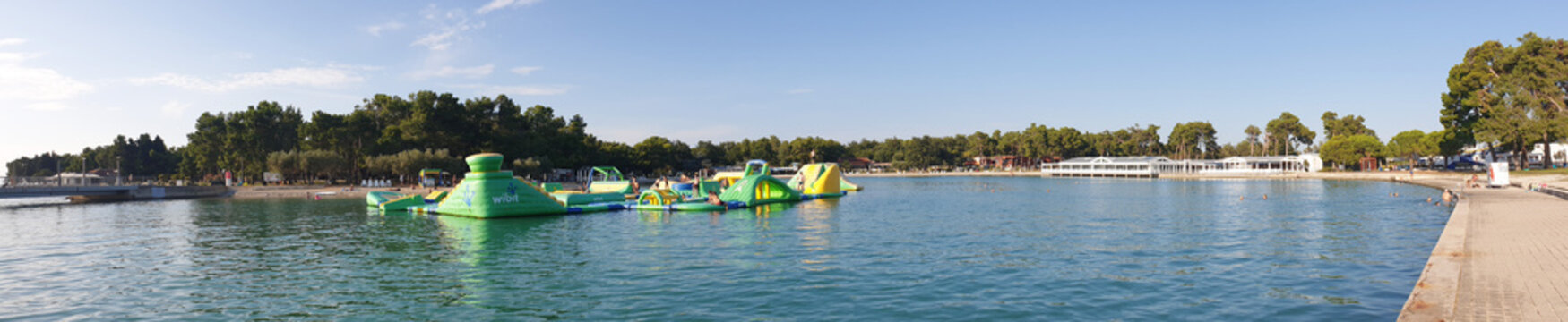 Aquapark Wibit - Stella Maris Umag Kroatien