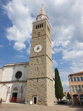 Kathedrale von Koper, Slowenien