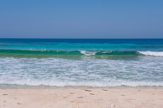 Honduras Roatan ,beach and tropical sea