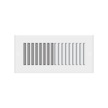 AC Vent, Air Condition Vent, Vent Icon, Home Cooling System, Home Heating, Heater, Heat Vent Vector Illustration Background