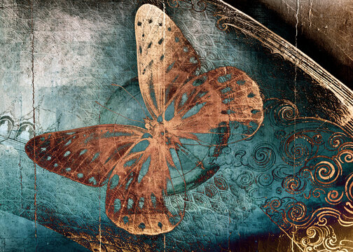 shaman magic butterfly