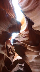 Photo sur Aluminium Antilope Antelope Canyon