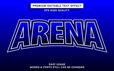 Wall Mural - Arena esport text effect