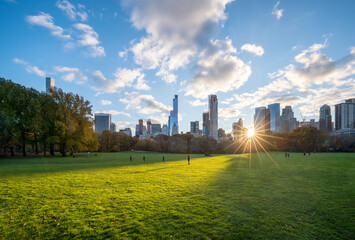 Central Park in Midtown Manhattan, New York City, USA
