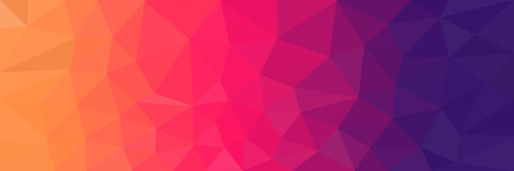 abstract pink background with triangles