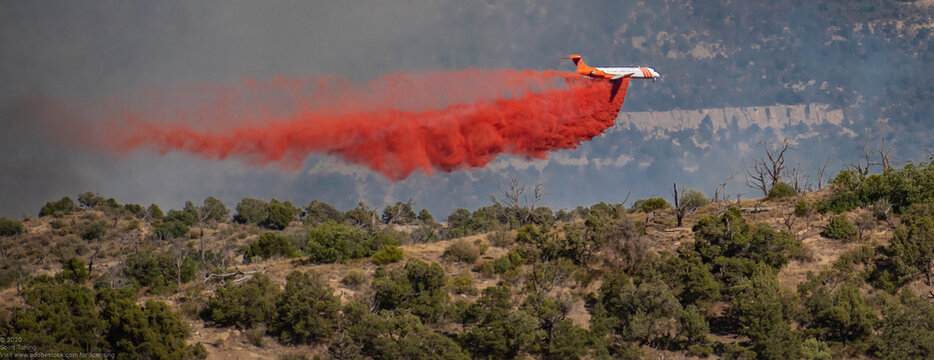 Pine Gulch Wildfire Colorado