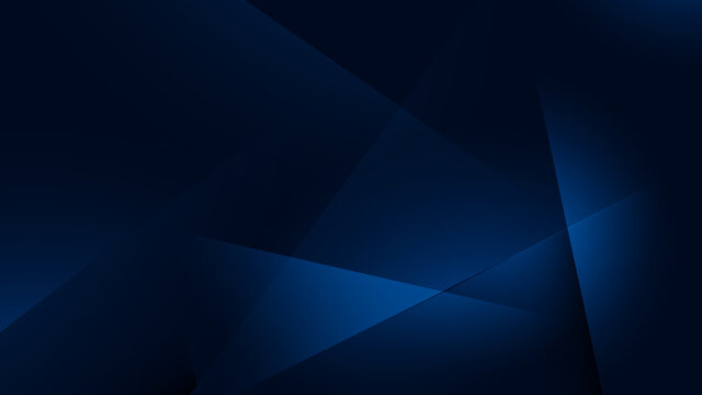 Blue abstract futuristic geometric poly technology background. Science and technology. Vector illustration