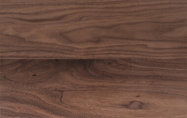 Printed roller blinds Wood Texture of sanded raw black walnut wood without finish