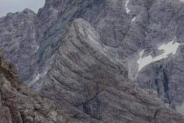 Awesome rocky scenario in the Mount Duranno area, Dolomites, Italy