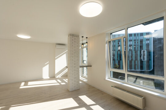 new renovation in a small apartment
