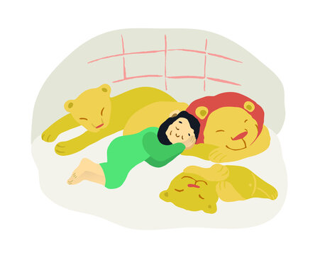 Daniel and lions