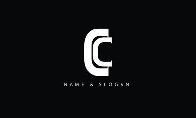 CC, C abstract letters logo monogram