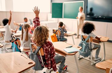 Fototapeta Children at school obraz