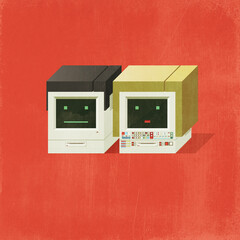 Male and Female computers