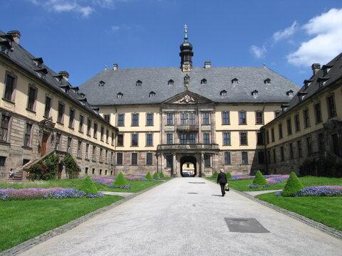 Ehrenhof barockes Stadtschloss Fulda