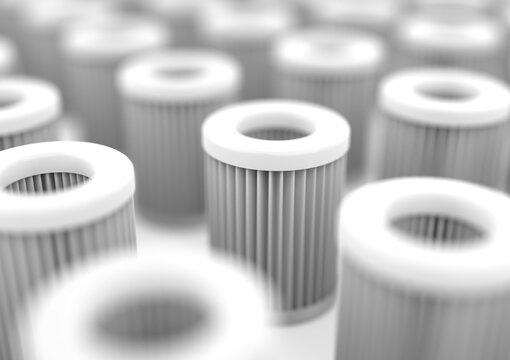 HEPA filter (High-efficiency particulate air)
