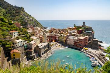 View of Vernazza - Cinque Terre, Liguria, Italy