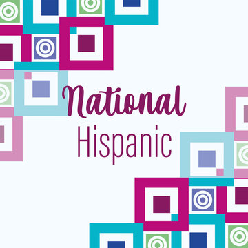 national hispanic heritage month, celebrate annual in united states background