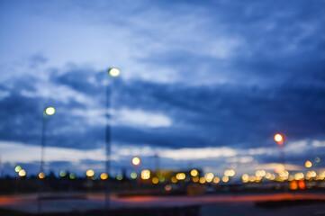 suburban street background Fotomurales