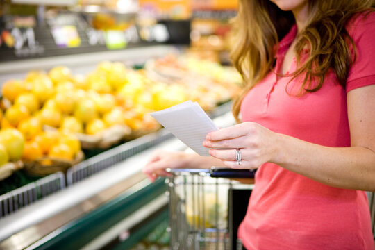 Grocery: Shopping with a List