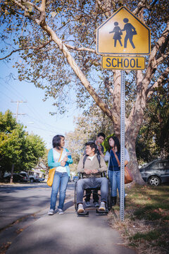 New Americans - Minority High School Students