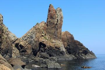 玄海国定公園 湊の立神岩
