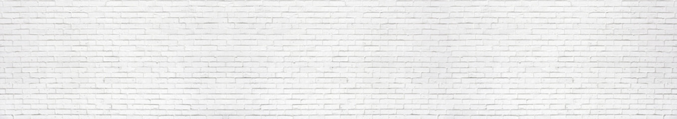 Foto auf Leinwand Wand white brick wall may used as background