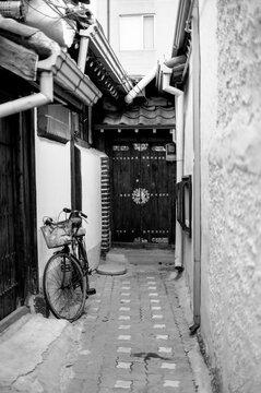 오래된 마을의 골목