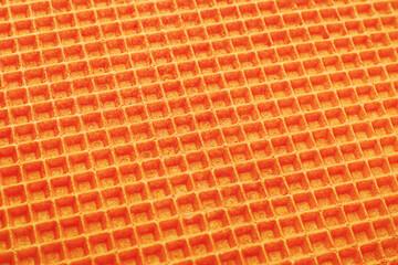 Orange wafer surface