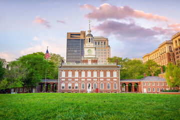 Wall Mural - Independence Hall in Philadelphia, Pennsylvania