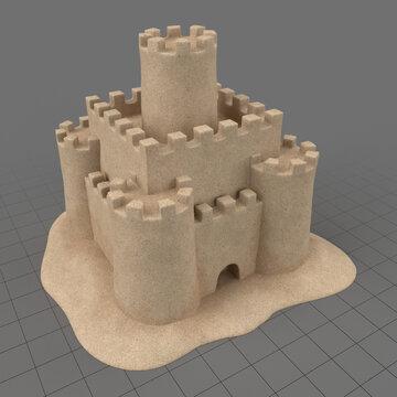 Sand castle 2