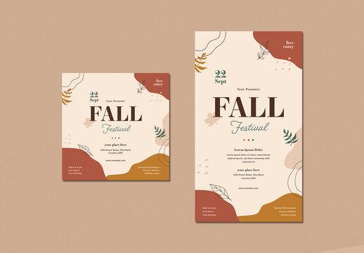 Fall Festival Social Media Posts