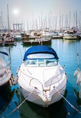 harbor in Palma de Mallorca, Spain