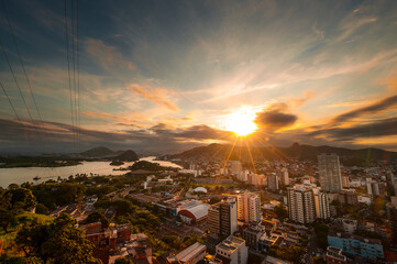 Downtown Bayside Area - VitÔøΩ_ria, Brazil.