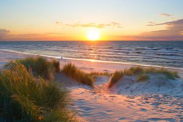 Fin d'été en Mer du Nord