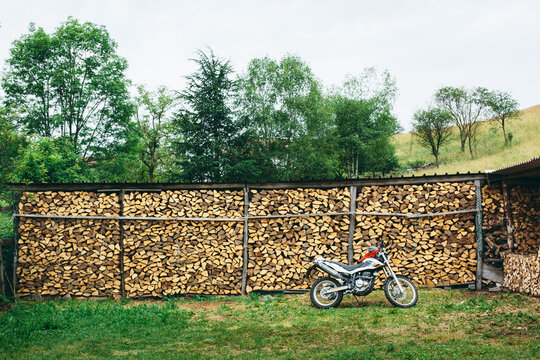 Woodshed outdoor