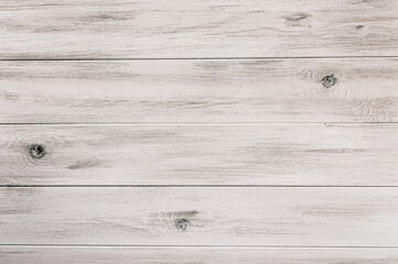 Rustic White Wooden Background