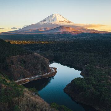 富士山 ドローン空撮 / Mountain Fuji Drone Aerial View