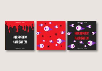 Halloween Social Media Posts