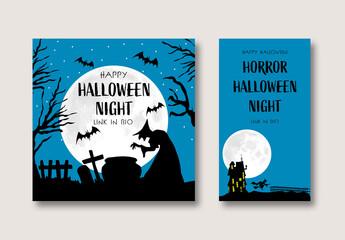 Halloween Social Media Set