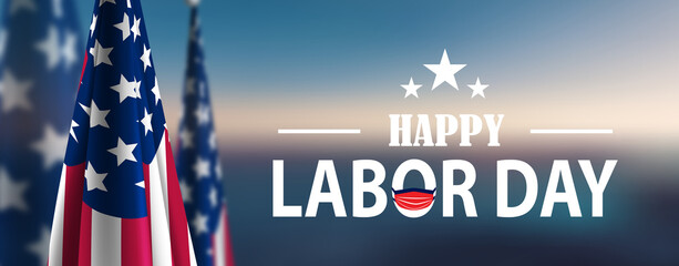 Papiers peints Fleur happy labor day