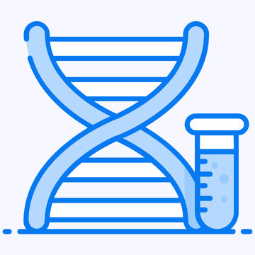Double helical strand, dna or genes in vector
