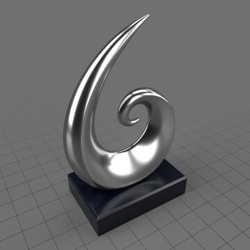 Abstract trophy
