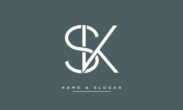 Sk Logo Photos Royalty Free Images Graphics Vectors Videos Adobe Stock