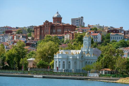 Bulgarian St Stephen Church in Balat , Istanbul, Turkey