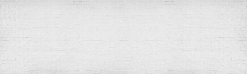 White brick texture details background with paint brickwork wall and copy space.