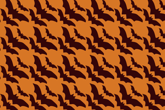 halloween smales pattern. suitable for wallpapers and backgrounds