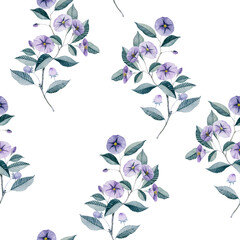 Manual composition.Seamless floral pattern.Design for cover, fabric, textile, wrapping paper .