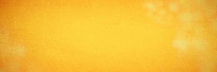 Abstract yellow grunge texture - background banner - summer, autumn or Christmas