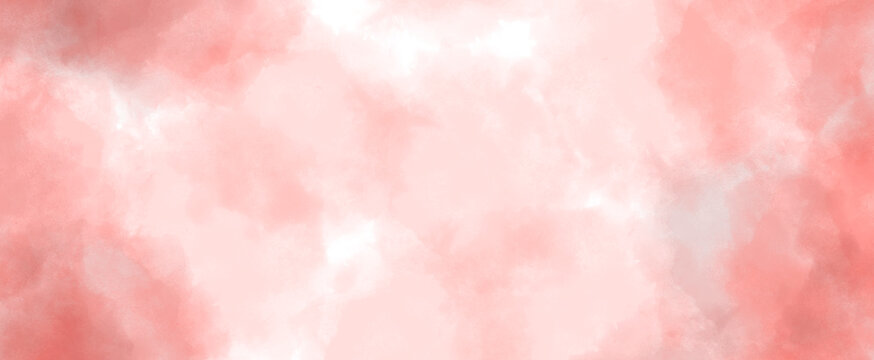 pink autumn abstract watercolor background illustration textured paper design